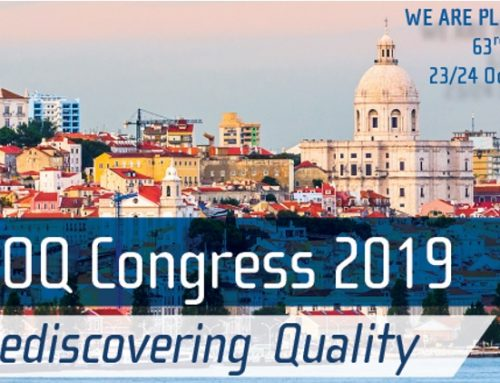 """EOQ Congress 2019: """"Rediscovering Quality"""""""